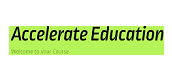 Accelerate Education-Learning Coach or Parent Course Navigation Guide