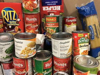 Food Donations Cram 3 Cuisers