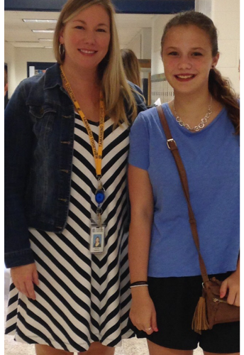 September's Featured Teacher--Mrs. Magliozzo
