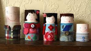 Toilet Paper Roll Families: