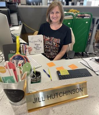 Library Clerk Jill Hutchinson