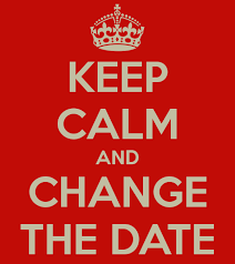 Date Change for School Store