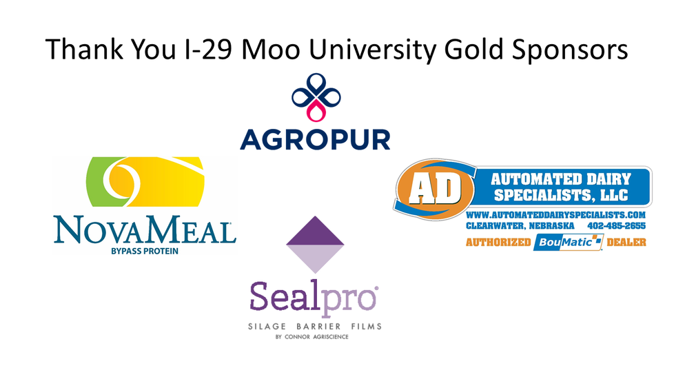 I-29 Moo University Gold Sponsors