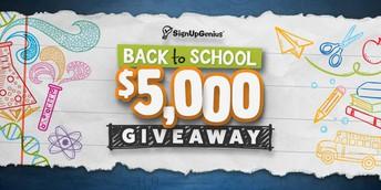 Help Us Win $5,000
