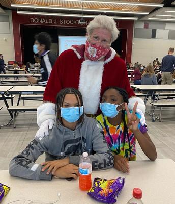 Santa with Khylee & Javian