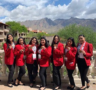 Chandler High FCCLA Team