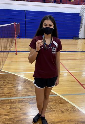 Badminton Singles State Championship!