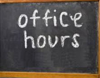 Ms. B.'s Office Hours