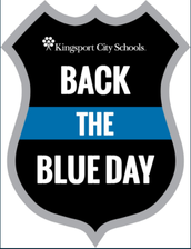 KCS Back the Blue Day