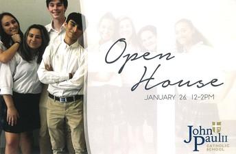 JPII Open House this Sunday