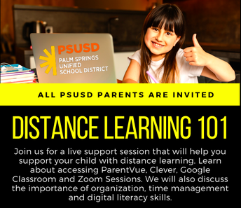 Distance Learning 101 for Parents