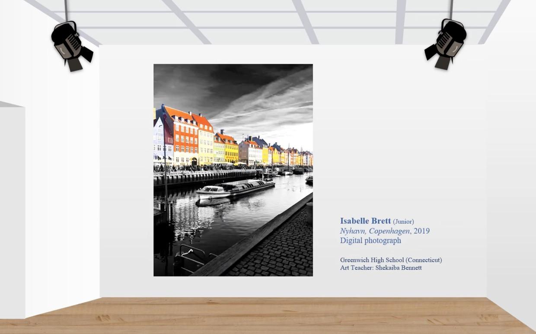 Digital Photo of Copenhagan by GHS student