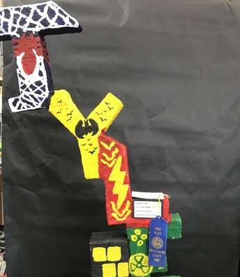 Literyian Tyler -1st place Youth Crafts
