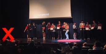 An audience had a chance to hear 11 amazing talks from MVHS students at our annual TEDxYouth@MVHS Event!