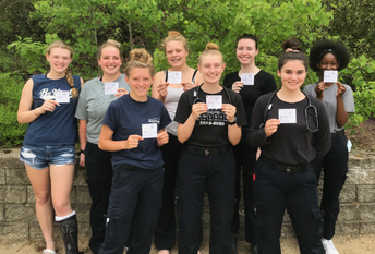 CRTC Health Science Students Pass EMT Practical Exam