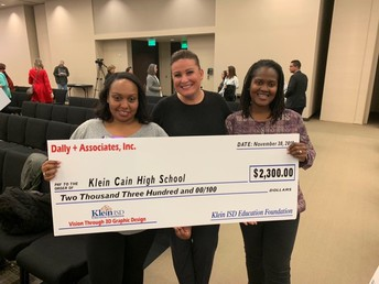 Klein Education Foundation Awards Grant to Cain Library!