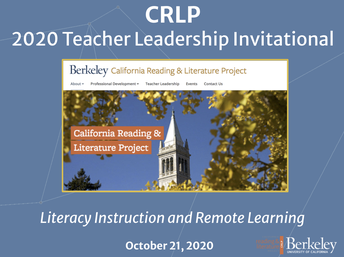 Literacy Instruction & Remote Learning
