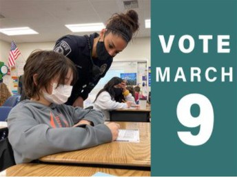 Replacement of 2-year school levy is on the March 9 ballot