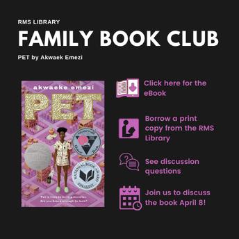 Family Book Club!