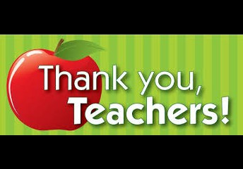 Thank you to our teachers and support staff!