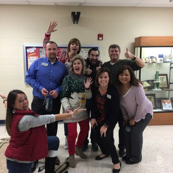 Staff Holiday Scavenger Hunt Winners