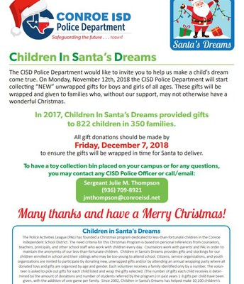 CISD Police Department Gift Collection