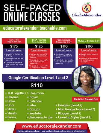 Educator Alexander Online, Self-Paced Classes