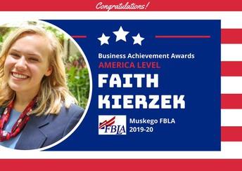 FBLA  Achievement