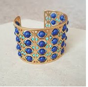 Beaded Abacus Cuff