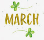 March is here!