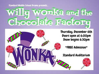 SMS Drama Students Present Willy Wonka!