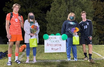 """SHS """"TEACHERS OF SIGNIFICANCE"""" RECOGNIZED AT BOYS VARSITY SOCCER GAME"""
