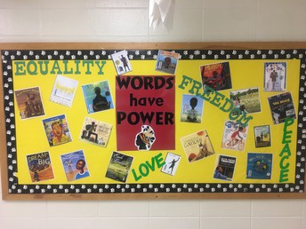 3rd Grade Words Have Power Mural