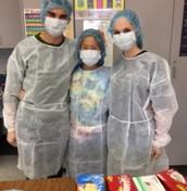 Pharmacy Tech Students Preparing for Work