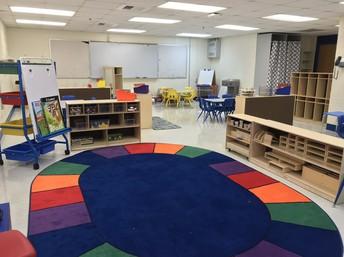 Pre-K Classroom Sneak Peak