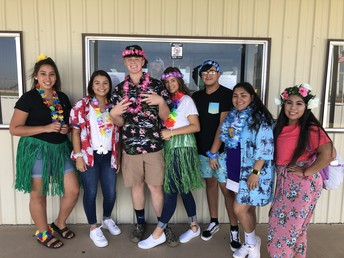 Luau Day at CHS
