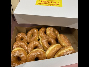 Donuts from Mr. Williams