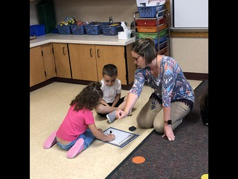 working with numbers in kindergarten