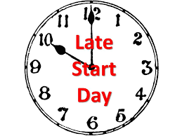 Delayed Start Wednesdays Begin Sept. 12th