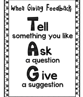 TAG: Giving Peer to Peer Feedback