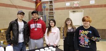 Secondary Students Volunteer