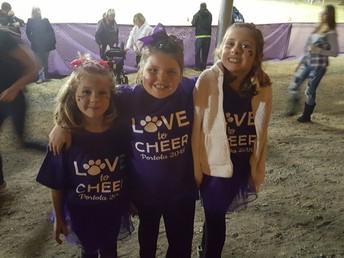 Coyote Cheerleaders