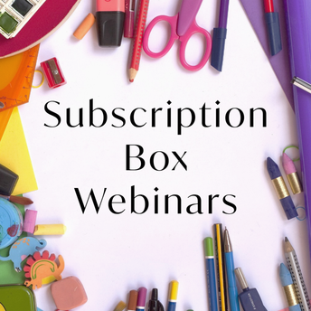 Subscription Box Webinars