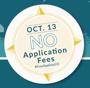 Colorado Free College Application Day - October 13, 2020