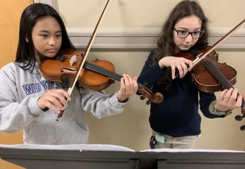 Hoboken Middle School Strings Program