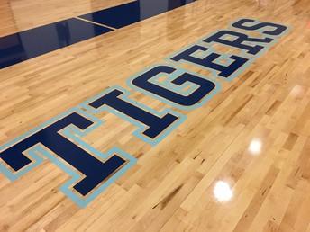 Tigers Gym Floor
