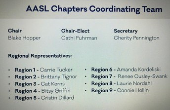 AASL Chapter Coordinating Team