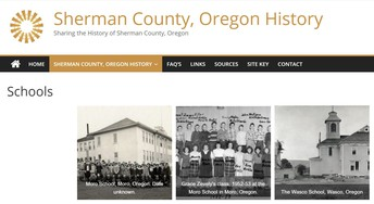 History of Sherman County Schools