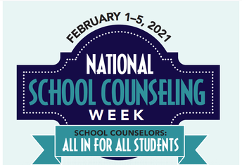 It is National School Counseling Week!!