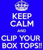 CLIP & SAVE BOX TOPS